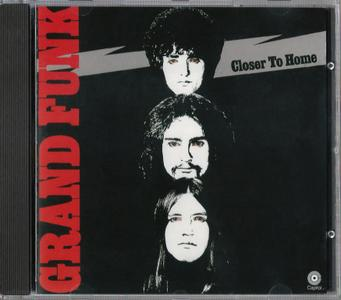 Grand Funk Railroad - Closer To Home (1970) {1988, Reissue}