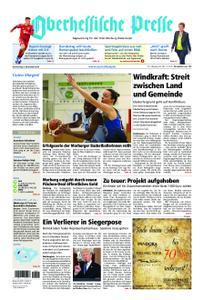 Oberhessische Presse Marburg/Ostkreis - 08. November 2018