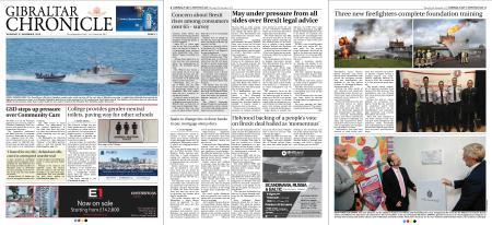 Gibraltar Chronicle – 08 November 2018