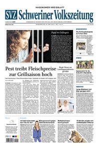 Schweriner Volkszeitung Hagenower Kreisblatt - 23. Mai 2019