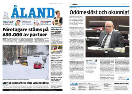 Ålandstidningen – 16 januari 2019