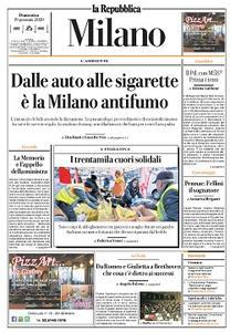la Repubblica Milano - 19 Gennaio 2020