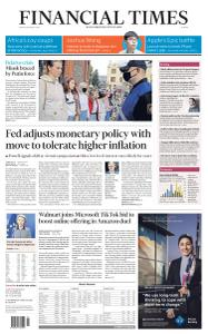 Financial Times Europe - August 28, 2020