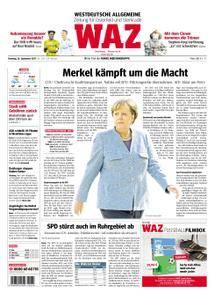 WAZ Westdeutsche Allgemeine Zeitung Oberhausen-Sterkrade - 26. September 2017