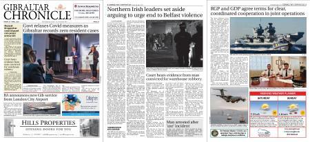 Gibraltar Chronicle – 09 April 2021