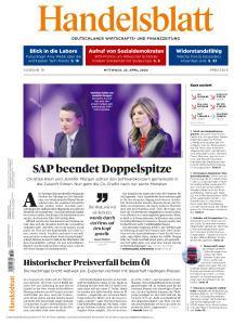 Handelsblatt - 22 April 2020