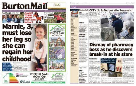 Burton Mail – September 26, 2018