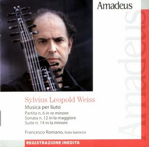 Francesco Romano — Sylvius Leopold Weiss: Musica per liuto