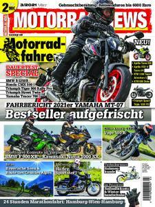 Motorrad News – März 2021