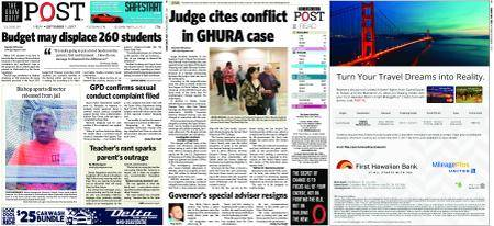 The Guam Daily Post – September 01, 2017
