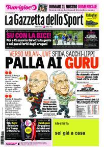 La Gazzetta dello Sport Roma – 10 novembre 2018