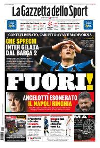 La Gazzetta dello Sport Roma – 11 dicembre 2019