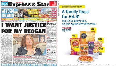 Express and Star Sandwell Edition – August 04, 2018