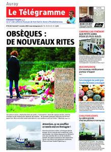 Le Télégramme Auray – 01 novembre 2019
