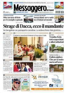 Il Messaggero Veneto - 1 Agosto 2016