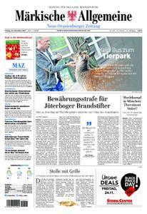 Neue Oranienburger Zeitung - 24. November 2017
