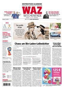 WAZ Westdeutsche Allgemeine Zeitung Oberhausen-Sterkrade - 14. Juli 2018