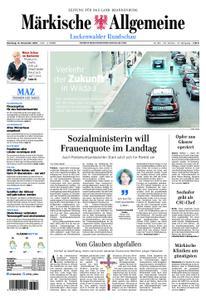 Märkische Allgemeine Luckenwalder Rundschau - 13. November 2018