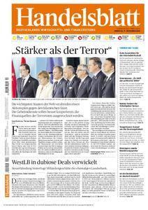 Handelsblatt - 17. November 2015