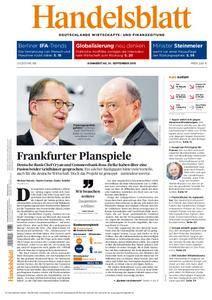 Handelsblatt - 01. September 2016