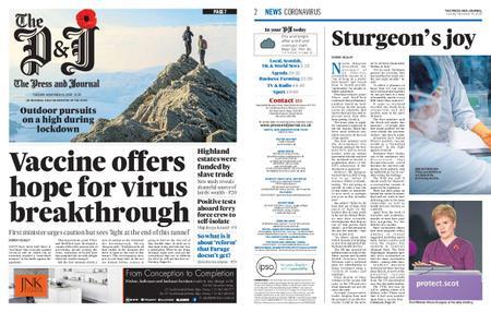 The Press and Journal Moray – November 10, 2020