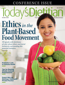 Today's Dietitian - October 2020