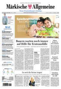 Neue Oranienburger Zeitung - 22. März 2018