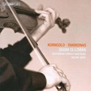 Vadim Gluzman, Neeme Jarvi - Korngold & Dvarionas: Violin Concertos (2010) Re-Up