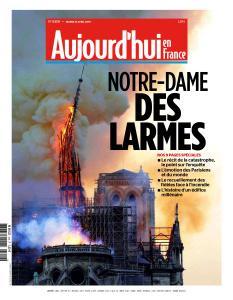 Aujourd'hui en France du Mardi 16 Avril 2019