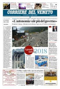 Corriere del Veneto Venezia e Mestre – 30 dicembre 2018