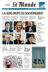 Le Monde du Mercredi 8 Juillet 2020