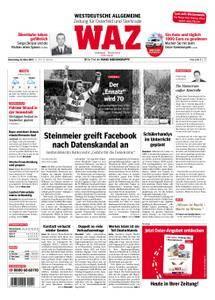 WAZ Westdeutsche Allgemeine Zeitung Oberhausen-Sterkrade - 22. März 2018