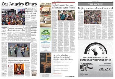 Los Angeles Times – January 25, 2020
