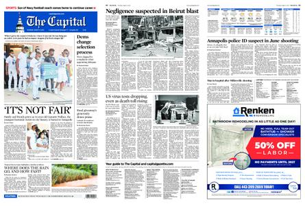 The Capital – August 06, 2020