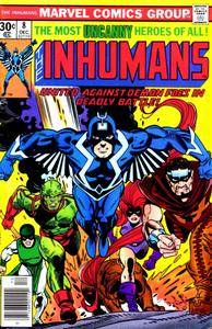 Inhumans v1 08 - Star-Search - Dust and Demons