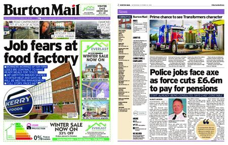 Burton Mail – October 24, 2018