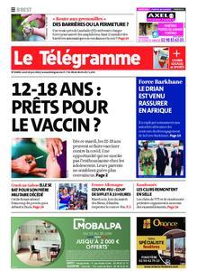 Le Télégramme Brest – 14 juin 2021