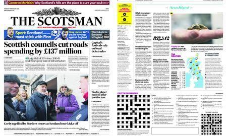 The Scotsman – February 13, 2018