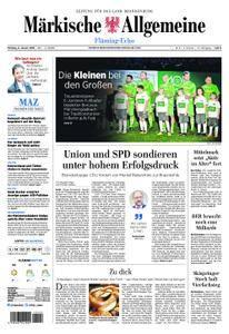 Märkische Allgemeine Fläming Echo - 08. Januar 2018