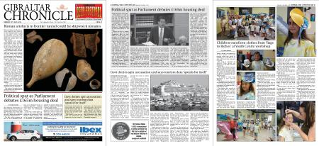 Gibraltar Chronicle – 22 July 2019