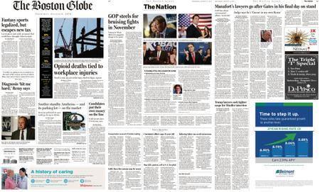 The Boston Globe – August 09, 2018
