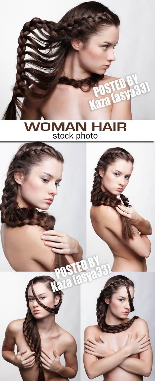 Woman hair 42