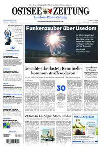 Ostsee Zeitung Wolgast - 04. Oktober 2017