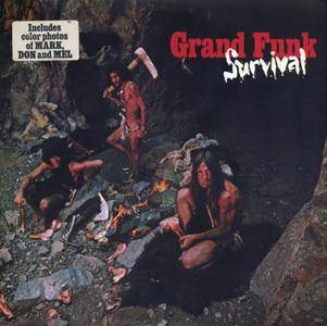 Grand Funk Railroad - Survival (1971) US 1st Pressing - LP/FLAC In 24bit/96kHz
