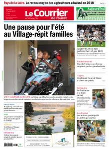 Le Courrier de l'Ouest Nord Anjou – 17 août 2019
