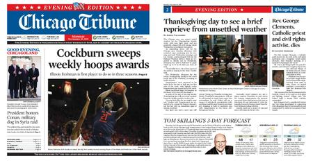 Chicago Tribune Evening Edition – November 25, 2019
