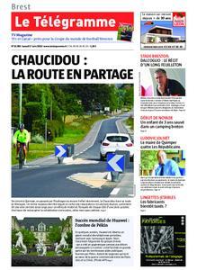 Le Télégramme Brest – 01 juin 2019