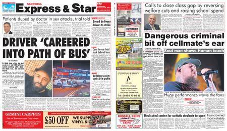 Express and Star Sandwell Edition – November 29, 2017