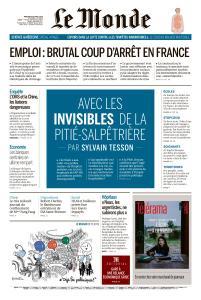 Le Monde du Mercredi 29 Avril 2020