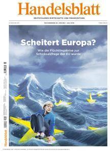 Handelsblatt - 29. Juni 2018